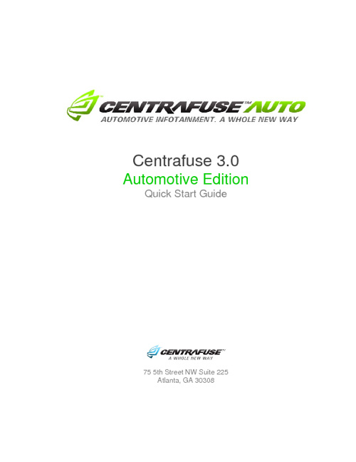 Centrafuse Manual
