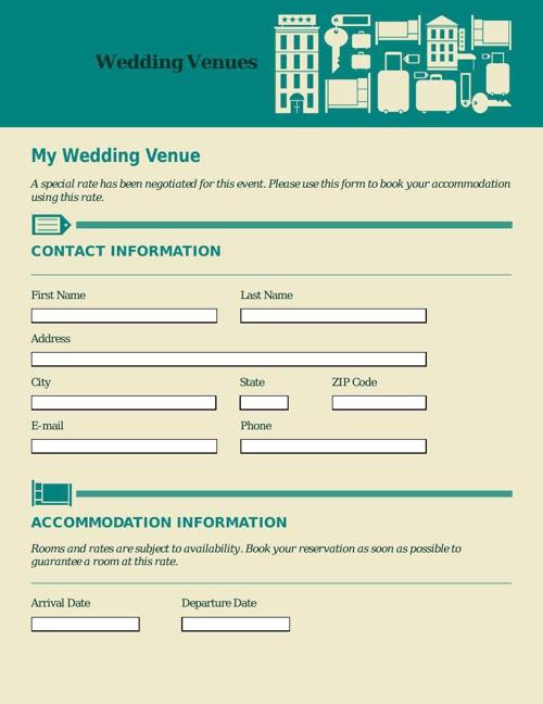 Accommodation Registration