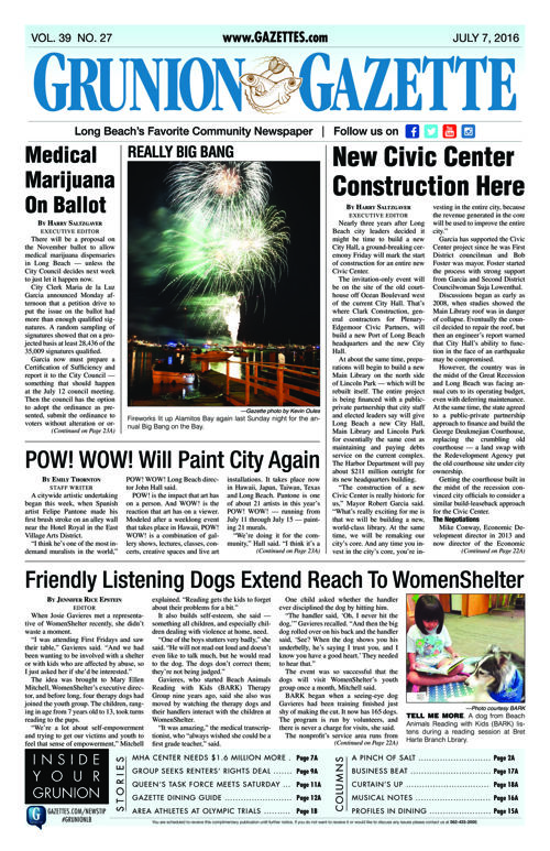Grunion Gazette | July 7, 2016