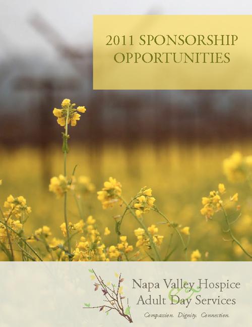 2011 Annual Sponsorship Opportunities