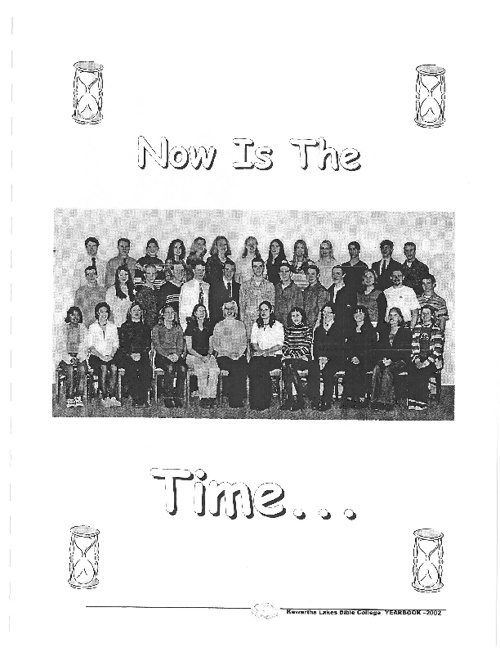 2001 - 2002 Yearbook