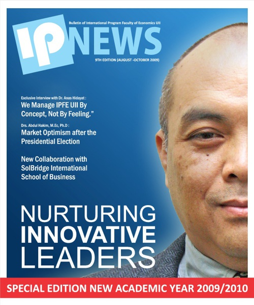 IPNEWS 9th Edition: Nurturing Innovative Leader