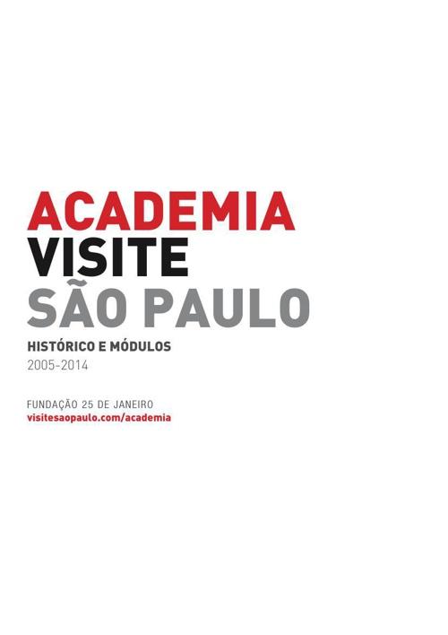 Almanaque Academia Visite São Paulo