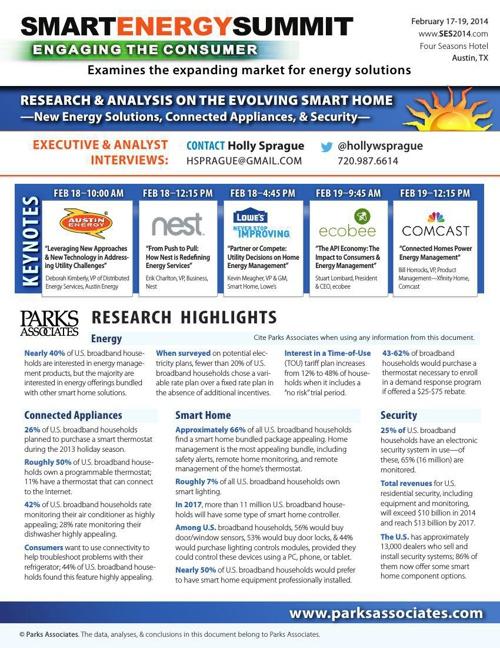Smart Energy Summit 2014 - Press Highlights