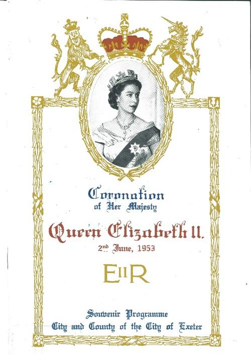 Queens Coronation Programme