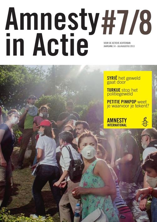 Amnesty in Actie, juli-augustus 2013