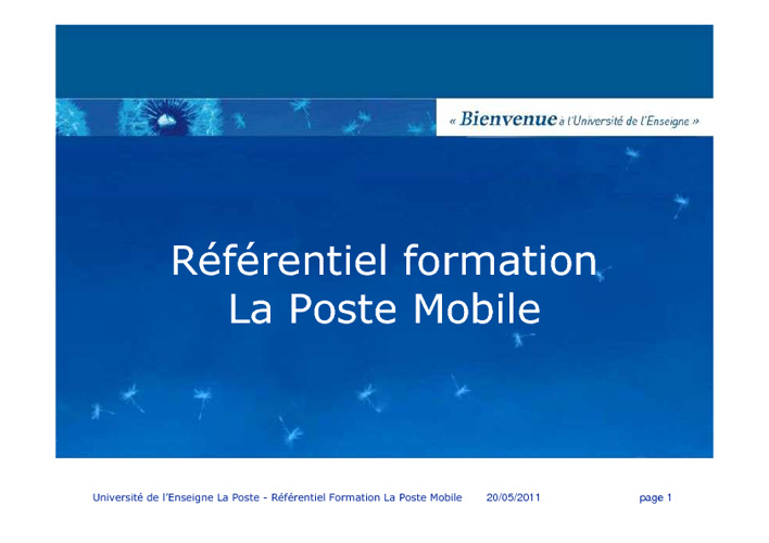 LPM | Référentiel Formation LPM