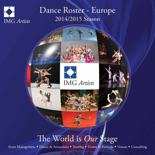 IMG Artists European Dance Roster - 2014/15 Season