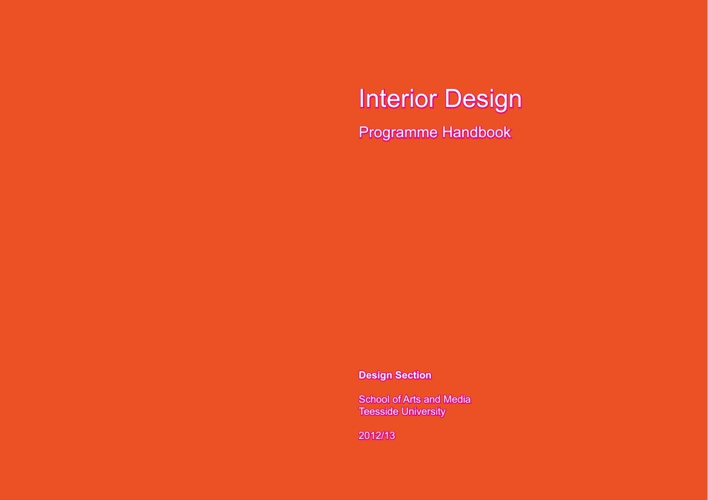 Programme Handbook ID