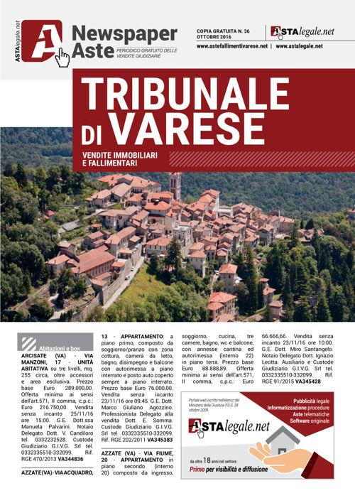 Varese ottobre 2016