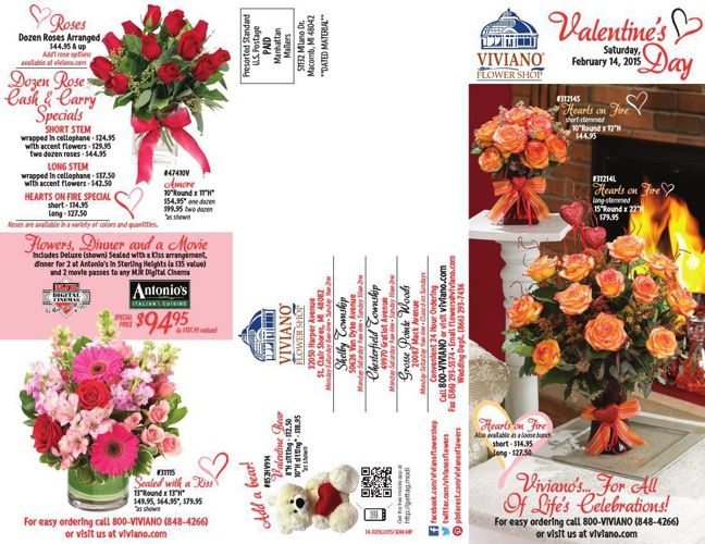 Viviano's Valentine's Day 2015 Catalog