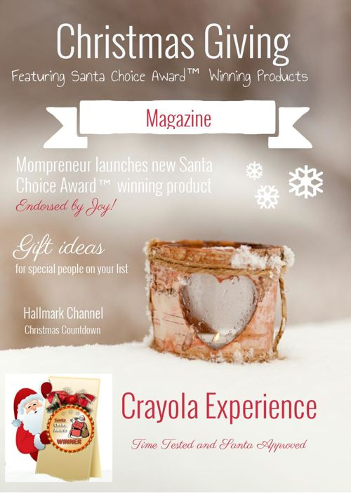 Christmas Giving Magazine from The Santa Choice Awards