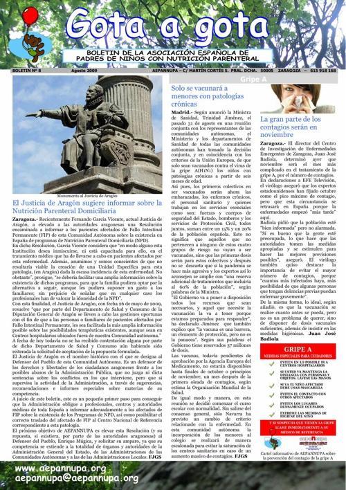 Boletín 8 Agosto 2009