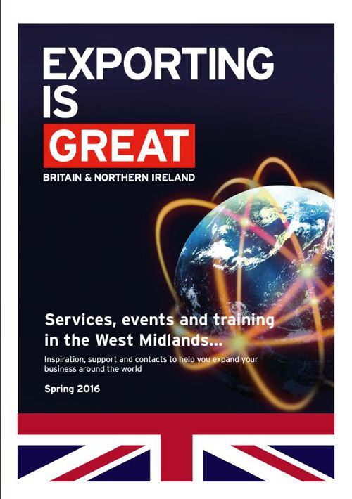 Services, events and training in the West Midlands…