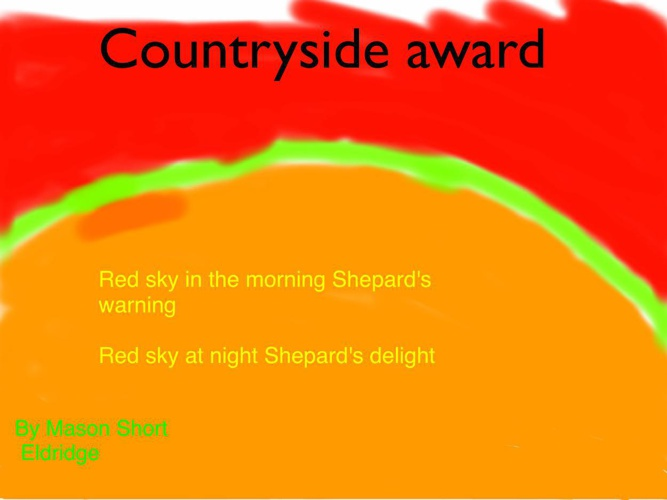 Countryside award books