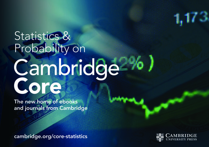 Cambridge Core Statistics and Probability flyer 2017