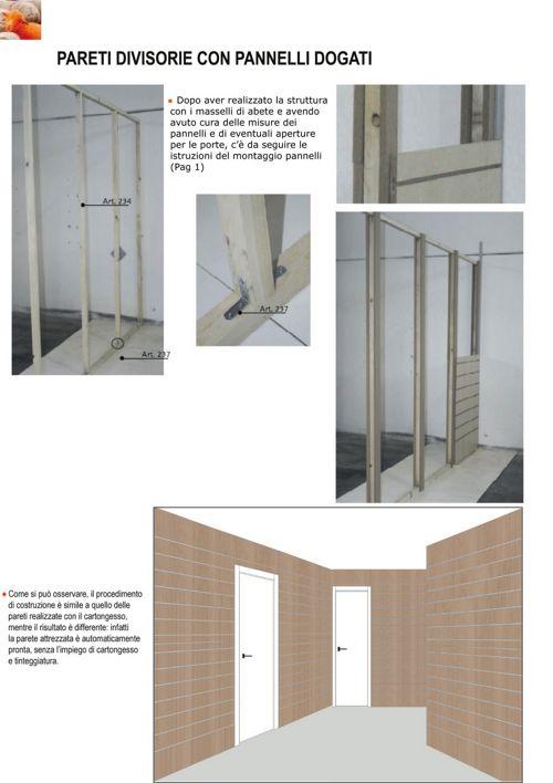 ALTRARREDO - Montaggio pareti autoportanti