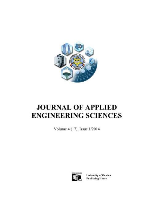 JOURNAL OF APPLIED  ENGINEERING SCIENCES