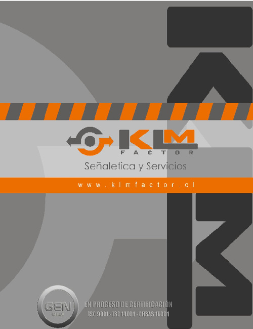 CATALOGO KLM FACTOR 2012-2013