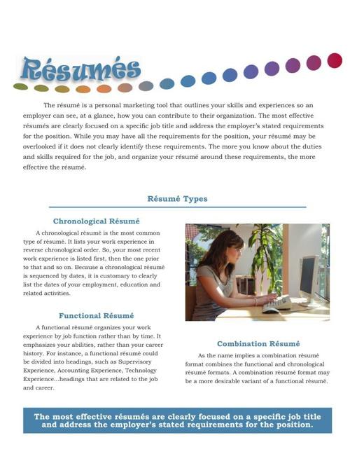 Copy of Career Services-Resume Handbook