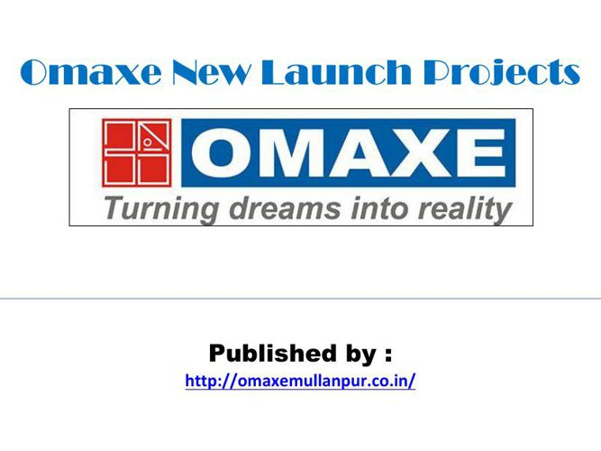 Omaxe New Launch Projects