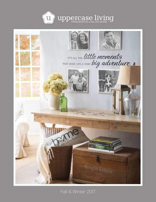 2017 Fall and Winter Uppercase Living Catalog