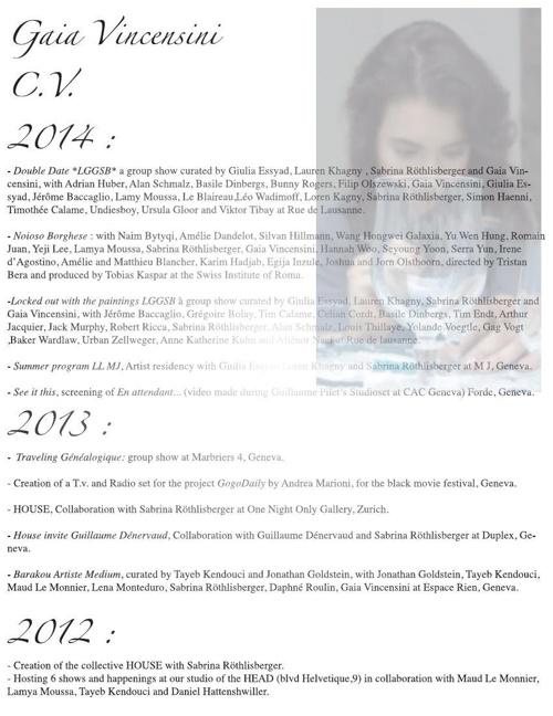 dossier Gaia 2014