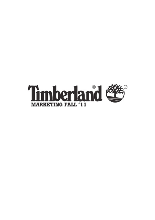 Timberland Marketing Fall '11