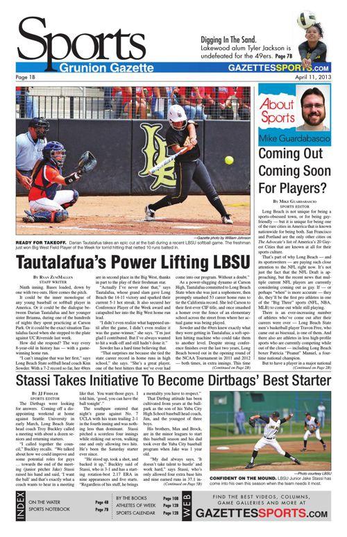 Gazette Sports | April 11, 2013