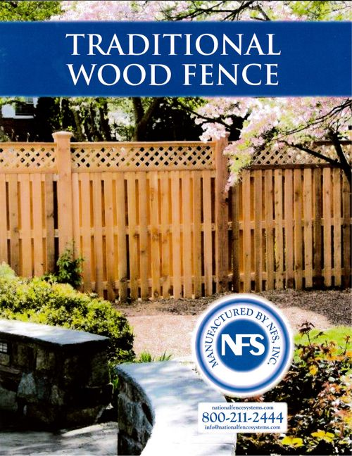 Traditional Wood Fence Brochure