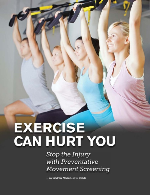 Exercise Can Hurt You