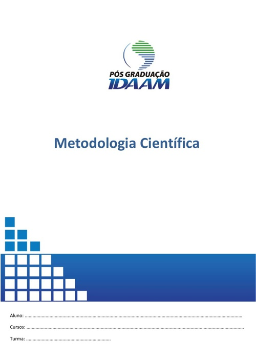 Apostila de Metodologia Científica