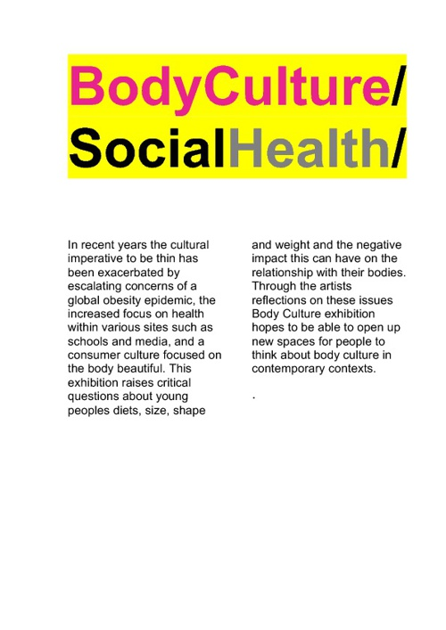 Body Culture Catalogue