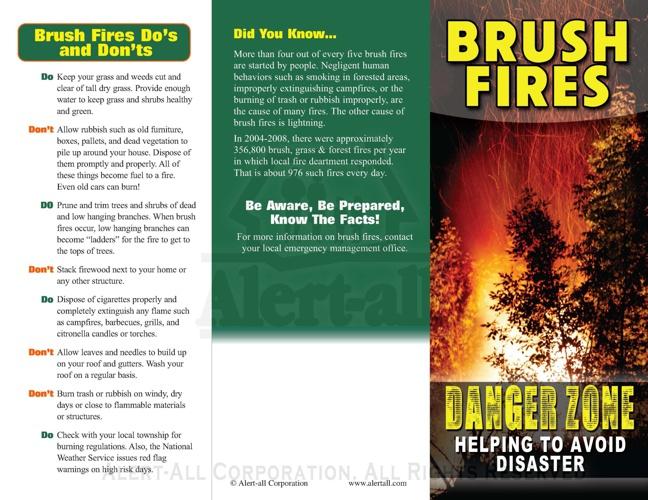755 Brush Fires