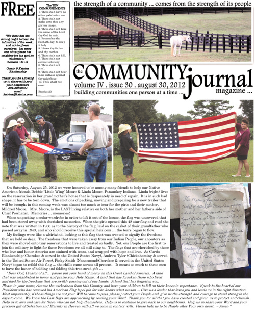 The Community Journal . August 30, 2012