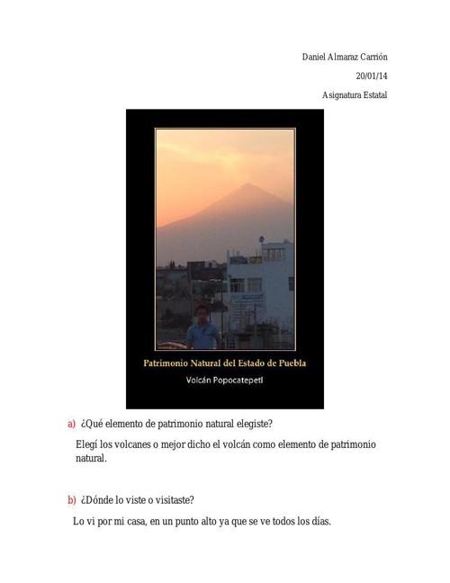Diario de exploracion-patrimonio natural