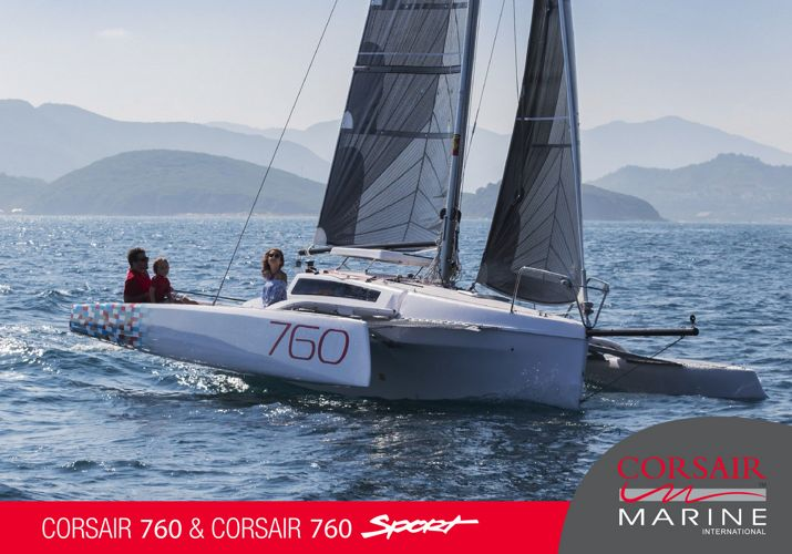 Corsair 760 trimaran Brochure
