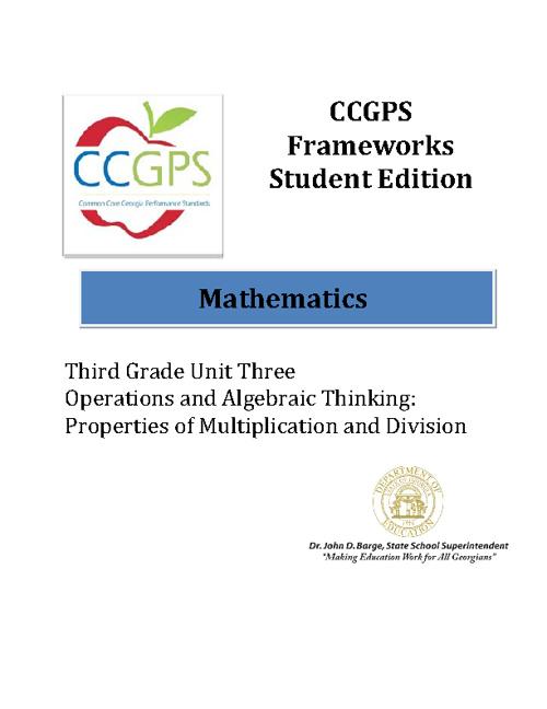 CCGPS Math 3 Unit 3
