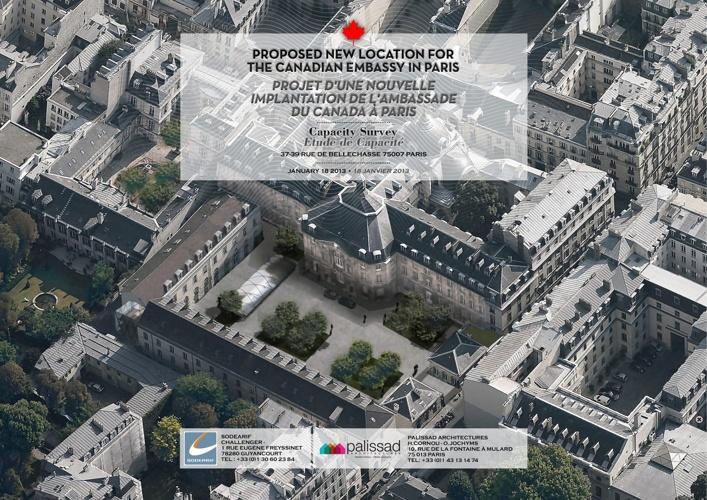 Canadian Embassy in Paris