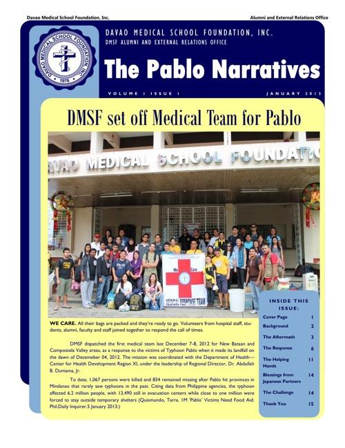 Pablo Newsletter