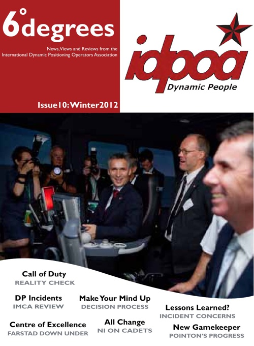 IDPOA 6degrees Issue 10 Winter 2010