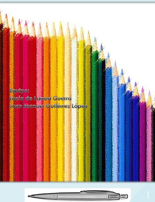 Como se hace un lápiz