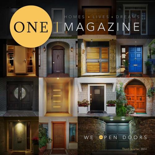 ONE Magazine Third Quarter 2014
