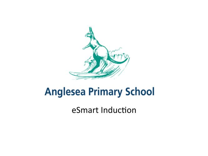 eSmart Induction booklet - Anglesea Primary School