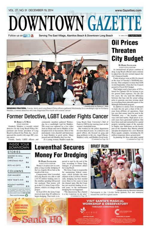 Downtown Gazette  |  December 19, 2014