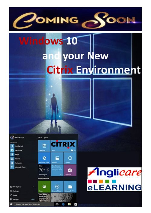 Windows 10 and your new Citrix environment