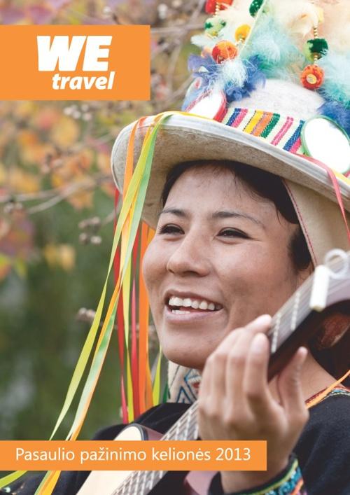 WE travel Pasaulio pažinimo kelionės 2013 - Katalogas
