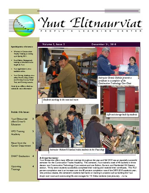 Yuut Newsletters