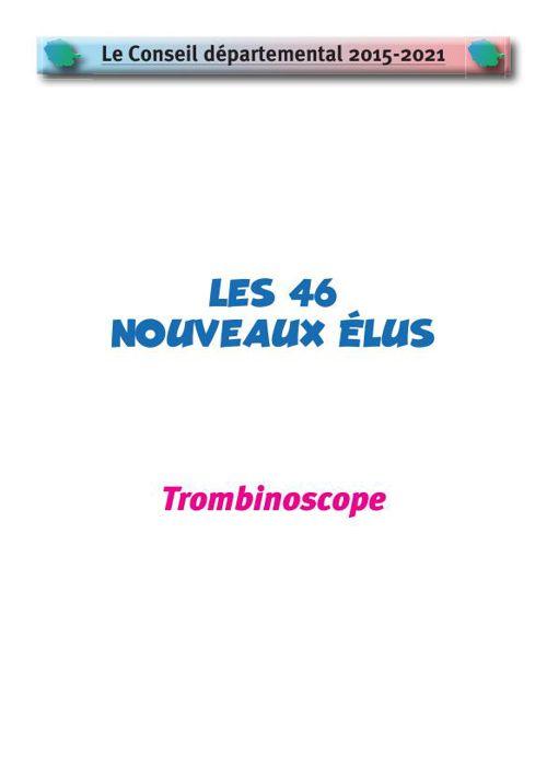 Le nouveau conseil départemental du Tarn - Trombinoscope