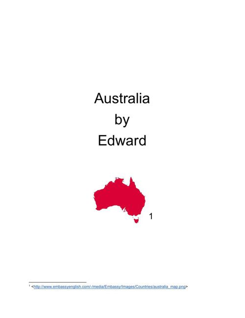 Australia By Edward
